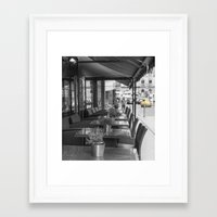 manchester Framed Art Prints featuring Manchester by Fine Art by Rina