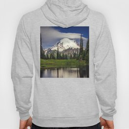 Mt Rainier in Washington Hoody