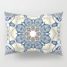 Blue fruit Pillow Sham