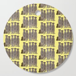 The Meerkat Mob I Cutting Board