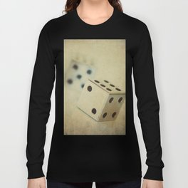 Vintage Chrome Dice Long Sleeve T-shirt