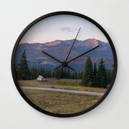 Morning Van Wall Clock