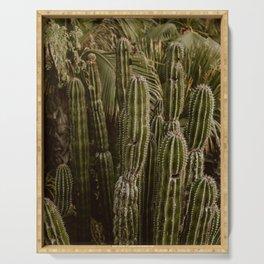 Saguaro Cactus Serving Tray