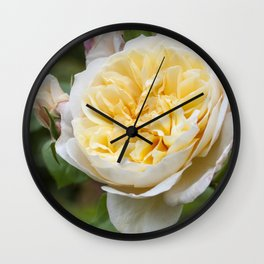Old English rose Wall Clock
