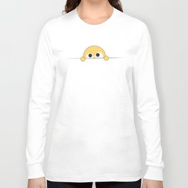 Shy Smily Long Sleeve T-shirt