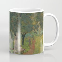 "Paul Gauguin - Coming and going, Martinique ""Allés et Venues, Martinique"" (1887) Coffee Mug"