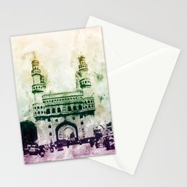 Charminar-Indian Monument Stationery Cards