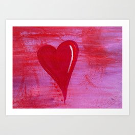 Washed By the Blood Art Print