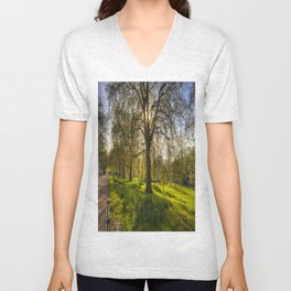 St James Park London Unisex V-Neck