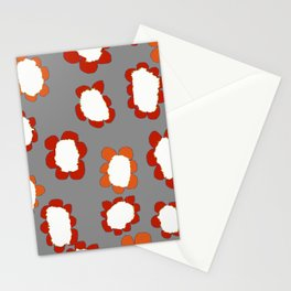 Daisies on Putty pattern Stationery Cards