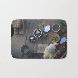 Learning to Cook from Above Bath Mat