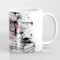 zombie Mugs featuring Zombie by DaeSyne Artworks