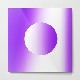 Abstract Purple Sphere 1738 Metal Print
