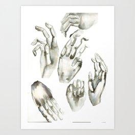 hands! Art Print