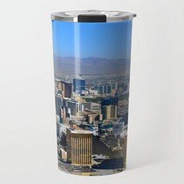 Las Vegas Nevada aerial work A Travel Mug