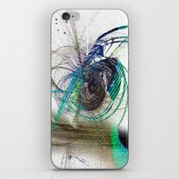 emerald iPhone & iPod Skins featuring Emerald by haroulita