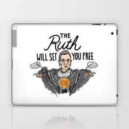 The Ruth Will Set You Free Laptop & iPad Skin