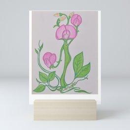 Flor De Fantasias Sweet Pea Mini Art Print