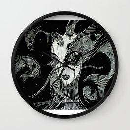 adrianamateus/women. Wall Clock