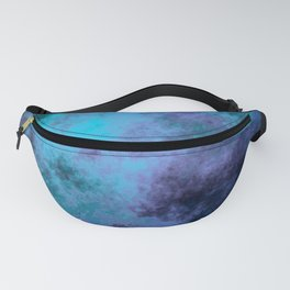 Blue and Purple clouds Fanny Pack