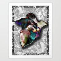 fly away Art Print