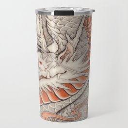 Japanese tattoo Typhoon dragon Travel Mug