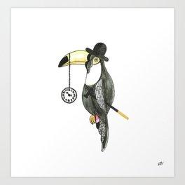 The Toucan - Edited Art Print