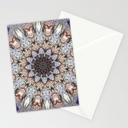Abstract Gemstones Stationery Cards