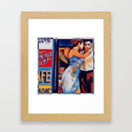 Tango Bar La Boca Buenos Aires Framed Art Print