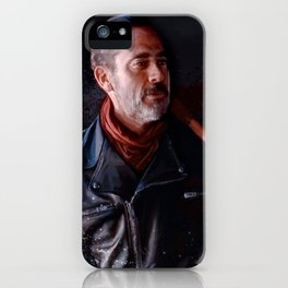 Negan And Lucille - The Walking Dead iPhone Case