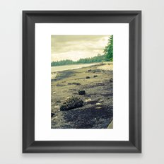 sea breeze Framed Art Print