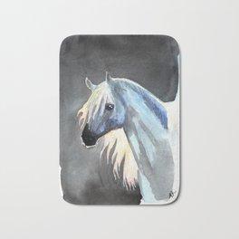 the last unicorn Bath Mat