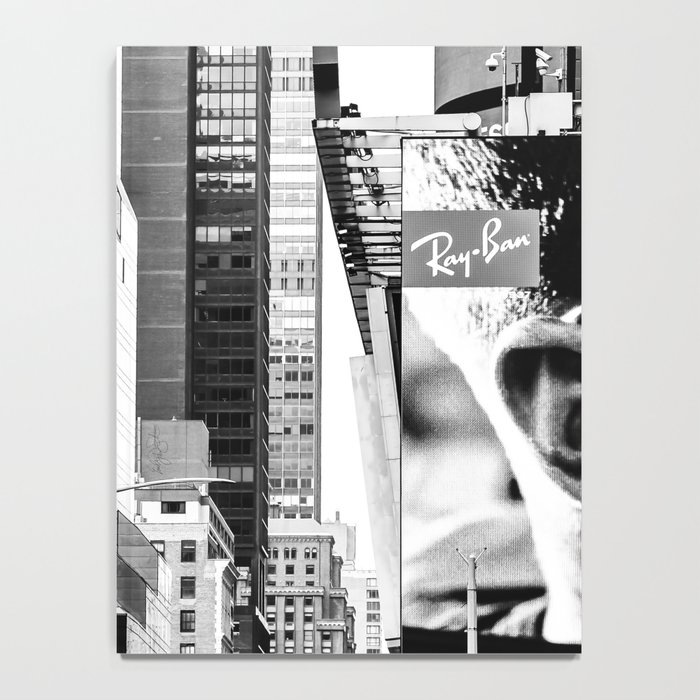 City Architecture Collage Notebook