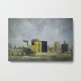 St. Paul Riverfront Metal Print