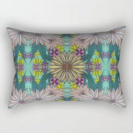 Sketchy Garden Rectangular Pillow