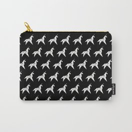 Unicorn Origami Carry-All Pouch