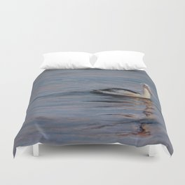 Sunrise Pelican Duvet Cover