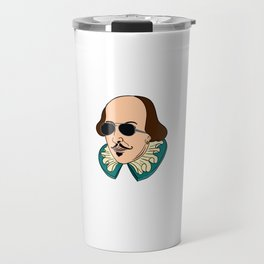 """""""I Put The Lit In Literature"""" unique and fabulous tee design. Awesome tee design and perfect gift!  Travel Mug"""
