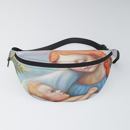 Maria and child. Madonna Fanny Pack
