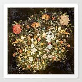Flowers Still Life Art Print