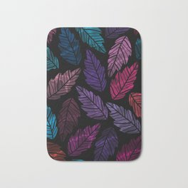 Colorful leaves Bath Mat