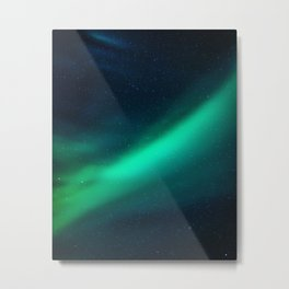 Swipe Aura Metal Print