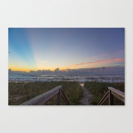 Sunrise View Canvas Print