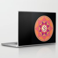 ohm Laptop & iPad Skins featuring Ohm by TypicalArtGuy