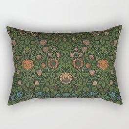 Violet and Columbine - William Morris Rectangular Pillow
