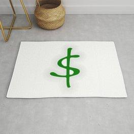 Shrinking Dollar Rug