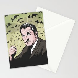 """Vincent Price """"The Bat"""" Stationery Cards"""