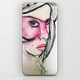 PINK 002 iPhone Skin