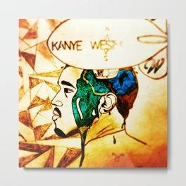 west 1.0 Metal Print