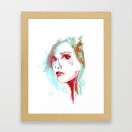 Lady Mint Framed Art Print